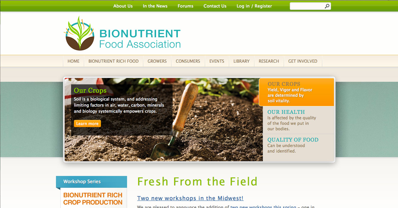 Bionutrient Food Association - Home