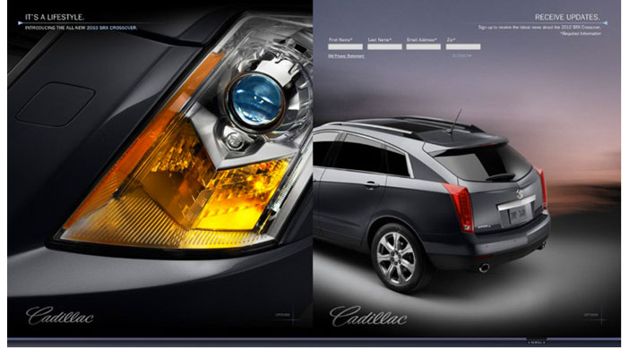 Cadillac SRX - Frpnt/Rear View
