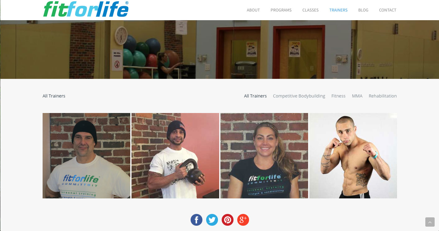 Fit For Life - Trainers