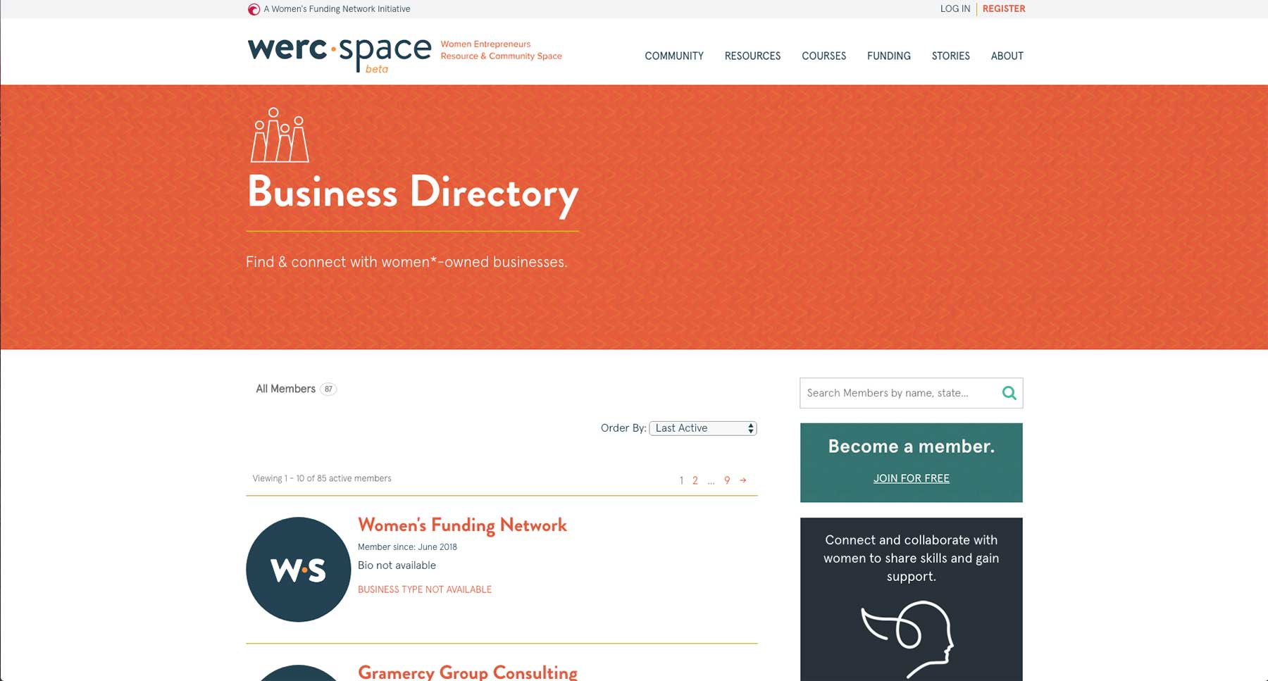 werc space - Business Directory