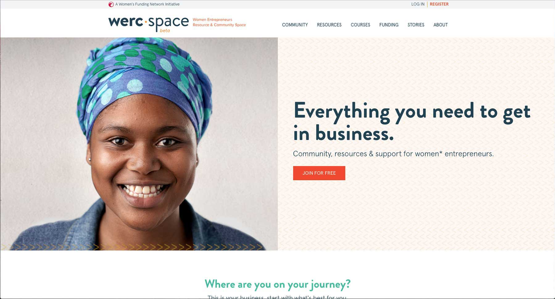 werc space - Home Page
