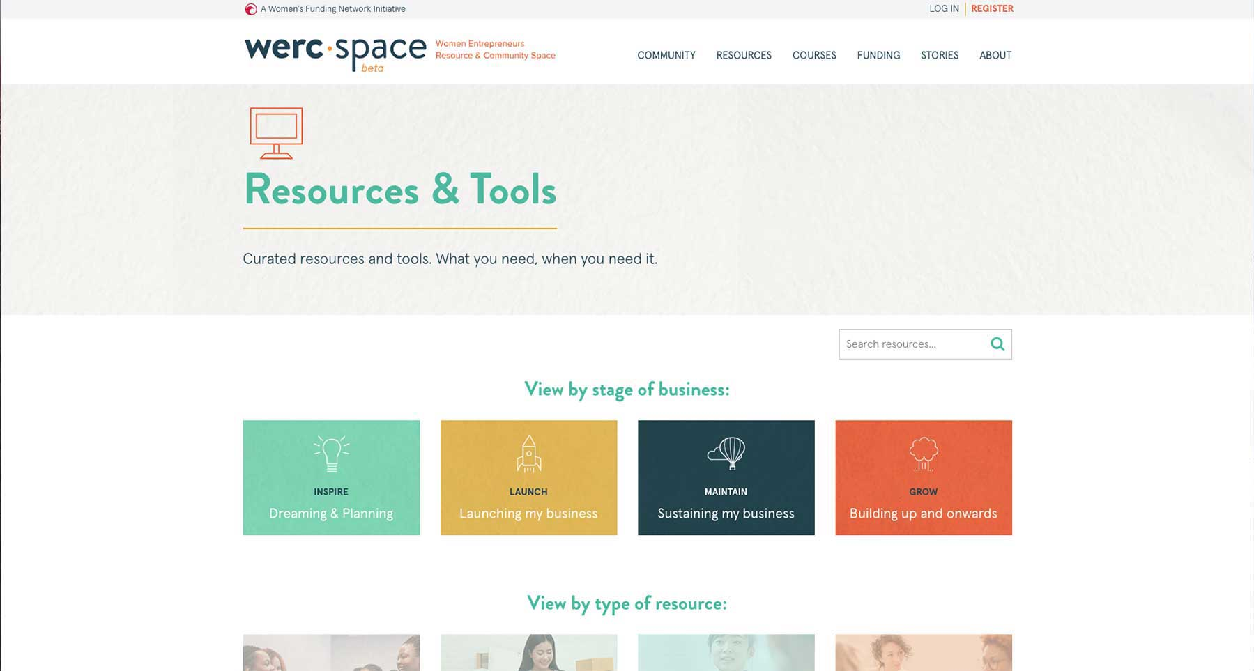 werc space - Resources